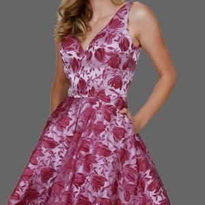 Dresses & Skirts - Fit and Flare Cocktail Formal Dress